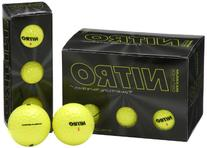 Nitro Maximum Distance Golf Ball , Yellow