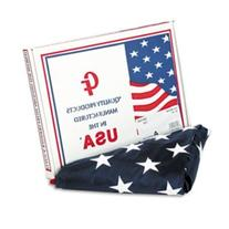 Advantus MBE002460 All-Weather Outdoor U.S. Flag  100 Percent Heavyweight Nylon  3 ft. x 5 ft