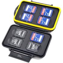 JJC MC-SD8 Water-Resistant Holder Storage Memory Card Case