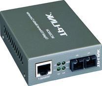 TP-Link Gigabit Ethernet Media Converter, 1000Mbps RJ45 to