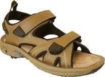 Thrifty Golf Supply Men's Camel Golf Sandal - Oregon Mudders
