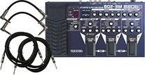BOSS ME-50B Bass Multi Effects Pedal Bundle w/4 Free Cables