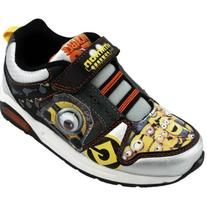 Despicable Me Boy's DESPICABLE ME GOOGLY-EYE ATHLETIC SHOE