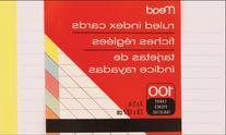 MEA63074 - Mead Colored Index Card
