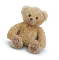Melissa & Doug Mealtime Prayer Teddy Bear Stuffed Animal