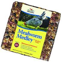 Manna Pro Mealworm Medley Cakes, 3-Pack, 6.5-Ounce Each