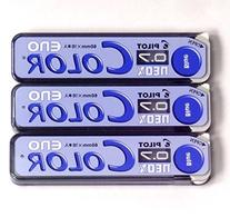 Pilot Color Mechanical Pencil Lead Eno, 0.7mm, Blue, 10 Lead