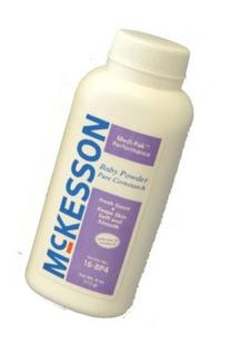 Medi-Pak Performance Baby Powder with Cornstarch 14 oz