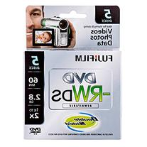 Fujifilm 25322008 8cm DVD-RW 2.8GB Rewritable Double Sided