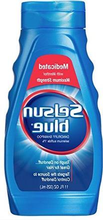 Selsun Blue Medicated Dandruff Shampoo 11 Oz