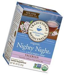 Traditional Medicinals Organic Nighty Night Valerian Tea, 16