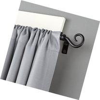 Kenney Medieval Hook Window Curtain Rod, 48 to 86-Inch,