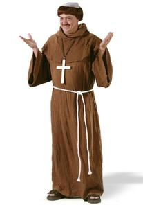 Mens Medieval Monk Costume