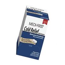 MEDI-FIRST 82248 Cold Relief, Tablet, PK 250