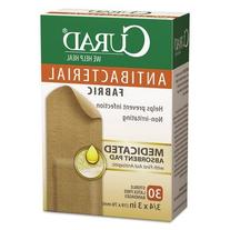 Medline Industries Antibacterial Fabric Bandages CUR47255