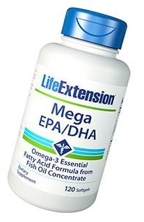 Life Extension - Mega Epa/Dha - 120 Gels
