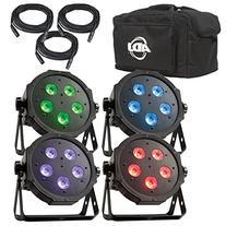 NEW! AMERICAN DJ Mega Flat TRI Pak Plus RGB + UV LED Mega