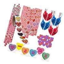 "157 Piece Mega Valentine Toy Assortment; 12 of 2 Piece ""Best"