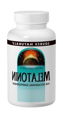 Source Naturals Melatonin 2.5mg, Peppermint, for Occasional