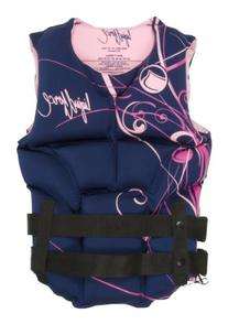 LIQUID FORCE MELODY COAST GUARD APPROVED VEST - SMALL