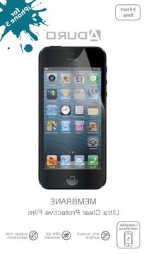 Aduro MEMBRANE Ultra Clear  Screen Protector for iPhone SE
