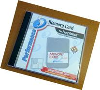 Memory Card With Case For PlayStation