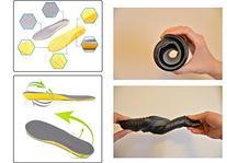 LEAGY Men's & Women's Memory Foam Orthopedic Black Shoe