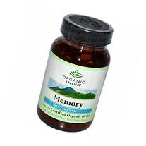 Organic India Memory Mental Clarity - 90 Vegetarian Capsules