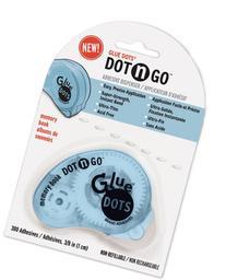 "Glue Dots 3/8"" Memory Dot 'n Go Disposable Dispens 1 pcs sku"