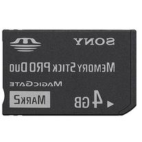 4GB Memory Stick Pro Duo Memory Card