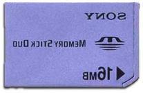Sony 16 MB Memory Stick Duo Media