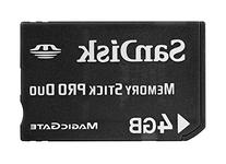 Sandisk 4GB Memory Stick PRO DUO