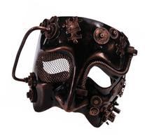 Men's Steampunk Bronze Mask