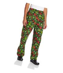 Dickies Men's The Traditional Baggy Chef Pant, Chili Pepper