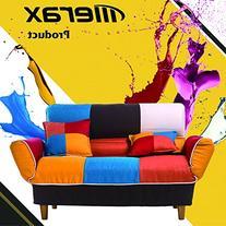 Merax Young Series Sofa Futon Sofa Loveseat Sleeper Modern