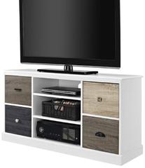 "Altra Mercer 50"" TV Console with Multicolored Door Fronts,"