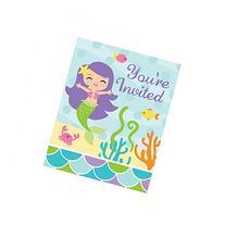 Mermaid Friends Invitation/Case of 48