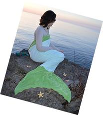 Mermaid Tail Blanket in 5 different Colors CHILD & ADULT