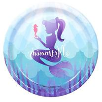 Mermaids Under the Sea Party Supplies - Dinner Plates