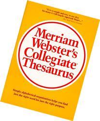 Merriam-Webster Collegiate Thesaurus