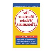 Merriam Webster 850 Paperback Thesaurus Dictionary Companion