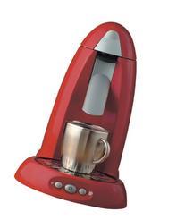 Melitta MES2R One:One Single Serve Coffee Machine, Red
