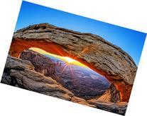 "Mesa Arch - 8""x12"" Print On Aluminum HD Metal High Gloss"