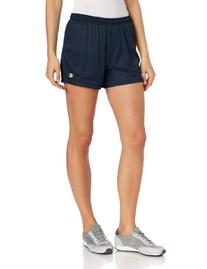 Nike Sports Women's Mesh Shorts - Black/Red - Small