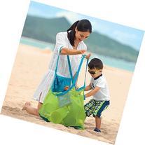 CJESLNA Mesh Beach Tote Bag - Good for the Beach Family