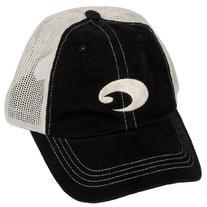 Costa Del Mar Mesh Hat, Black