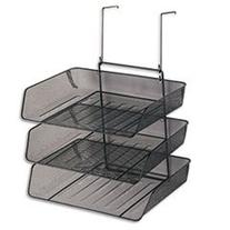 Mesh Partition Additions Three-Tray Organizer, 11 1/8 x 14 x