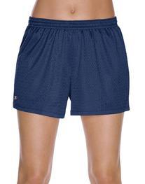 Champion Women's Mesh Short, Heritage Navy, Large