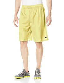 Russell Athletic Men's 9 Inch Mesh Short, GT Gold, XX-Large