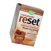Metabolic Reset Chocolate Shake 10 Pkts by Natures Way